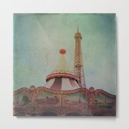 Bohemia of Paris Metal Print