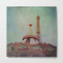 Bohemia of Paris Metal Print