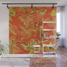Papaya Juice Wall Mural