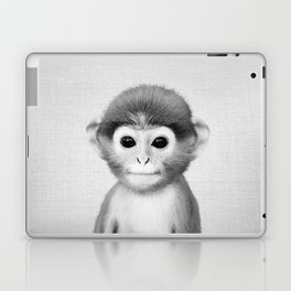 Baby Monkey - Black & White Laptop & iPad Skin