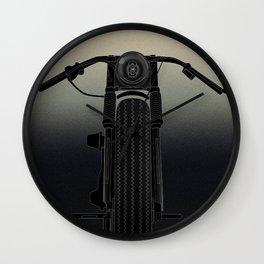 Retro Bike Art  Wall Clock