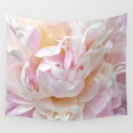 Pink Petal Flower Power Wall Tapestry