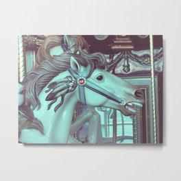 Merry Horse Metal Print
