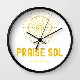 Praise Sol | Mithraic | Fan Gift Wall Clock
