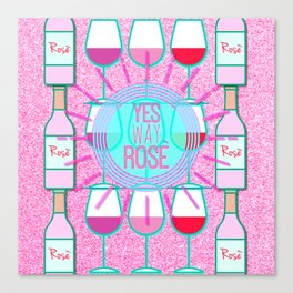 Yes Way Rose Canvas Print