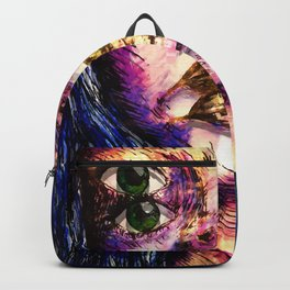 Golden Fantasy Backpack