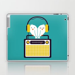 Radio Mode Love Laptop & iPad Skin