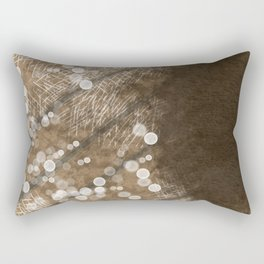Brown Illusion Rectangular Pillow