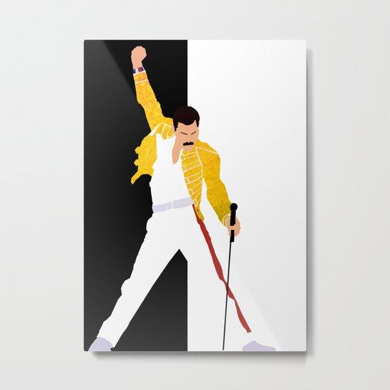 Freddie m Metal Print