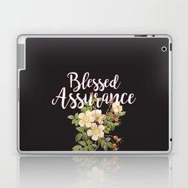 Blessed Assurance - Black Laptop & iPad Skin