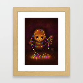 Tangled Mess (Forever Halloween Collection) Framed Art Print