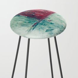 abstract painting Counter Stool