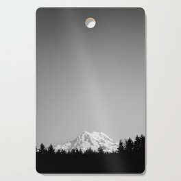 Mt. Rainier Cutting Board