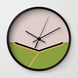 James T Kirk - Minimalist Star Trek TOS The Original Series -  James Jim - startrek - Trektangles Wall Clock