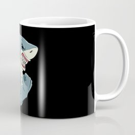 Shark At The Gym | Fitness Training Muscles Coffee Mug