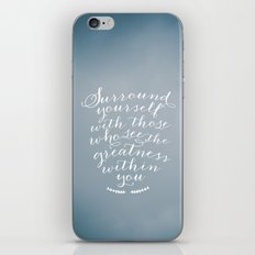 Surround yourself with... iPhone & iPod Skin