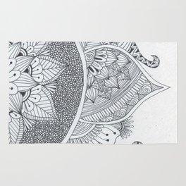 Half Page Mandala Rug