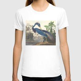 Louisiana Heron, Robert Havell after John James Audubon T-shirt
