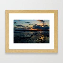 Sky Painting Framed Art Print