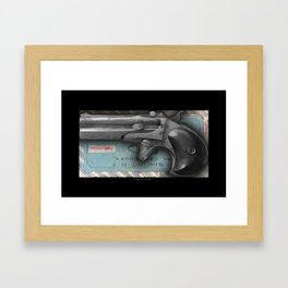 THE GAMBLER 004 Framed Art Print