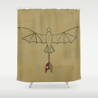 toothless Shower Curtains featuring Toothless by jozi.art