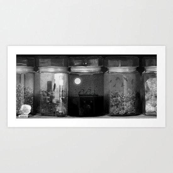 Little Worlds (Crop) Art Print