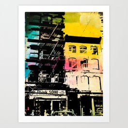 Think Soho Art Print