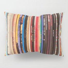 Indie Rock Vinyl Records Pillow Sham