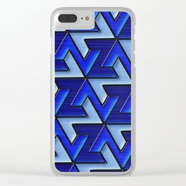 Geometrix 110 Clear iPhone Case