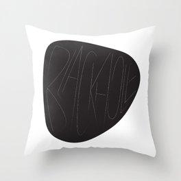 Blackhole Throw Pillow