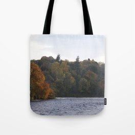 Autumn from Ness Island Inverness Tote Bag