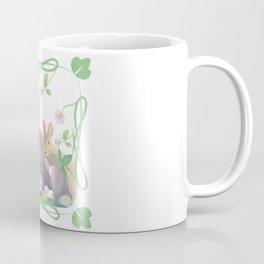 Bunnies and clover Coffee Mug