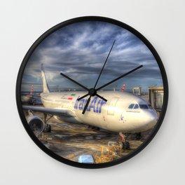 Iran Air Airbus A330 Wall Clock