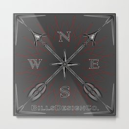 Bills Design Co. Metal Print