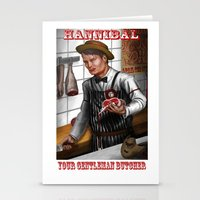 hannibal Stationery Cards featuring HANNIBAL by Gart Graphisme