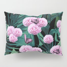 Tropical Peonies Dream #1 #floral #foliage #decor #art #society6 Pillow Sham