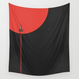 to new horizons Wall Tapestry