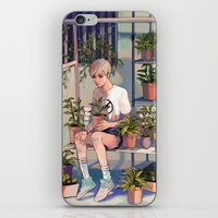 plants iPhone & iPod Skins featuring plants by KEL H