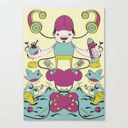 orly's life Canvas Print
