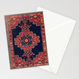Afshar Kerman South Persian Rug Print Stationery Cards