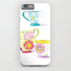 Tea Cups Slim Case iPhone 6s