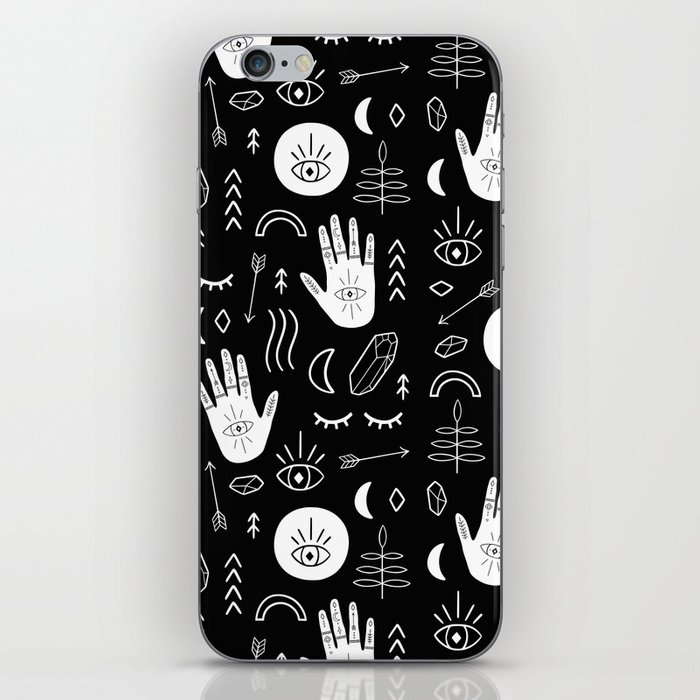 Inverted Witchy Pattern iPhone Skin