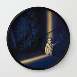 Dark Side Of Me Wall Clock