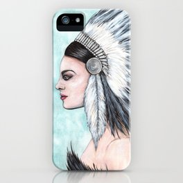 Feathers and Resolution iPhone Case