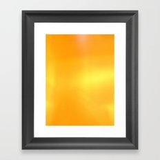 A Golden Waterfall Framed Art Print