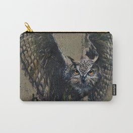 Owl background Carry-All Pouch