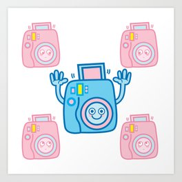 We are watching you. Say Cheese!!! Art Print