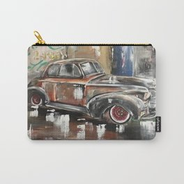 Vintage Car Antique Car 40's car 1940's car Carry-All Pouch