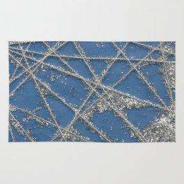 Sparkle Net Blue Rug