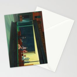 Pennywise in Hopper's Nighthawks Stationery Cards